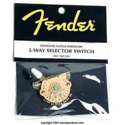 Fender 5 way selector switch perjungėjas